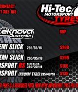 Hi-Tec Drifting Motorsport Tyres